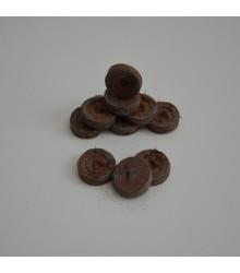 Rašelinové zakořeňovače - Jiffy - 25 mm - 10 ks
